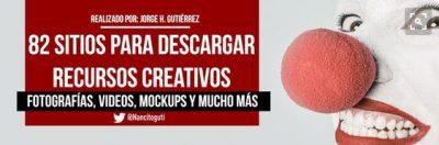 82 sitios para descargar recursos creativos